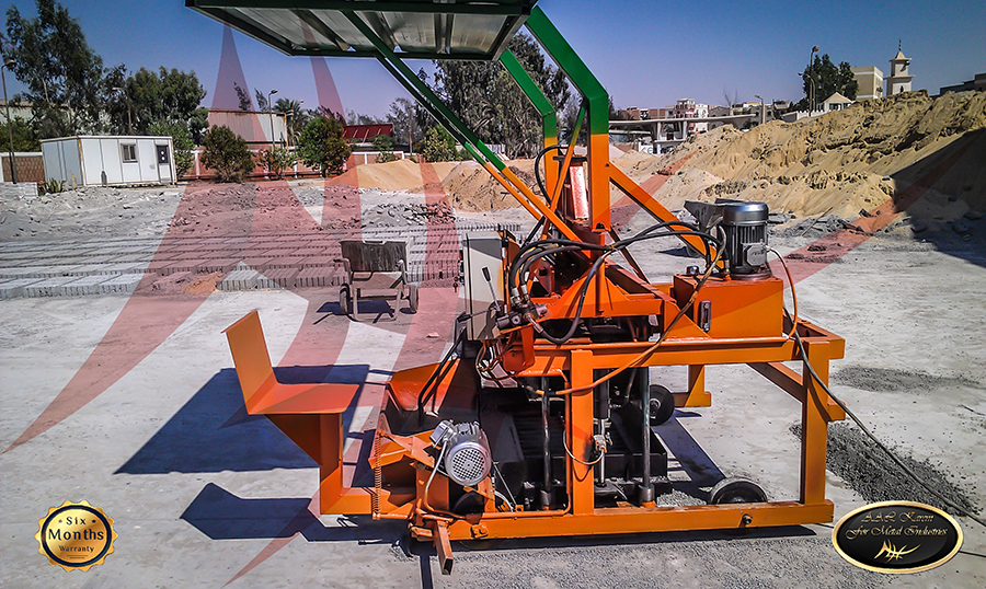 Hydraulic Brick Machine moving large