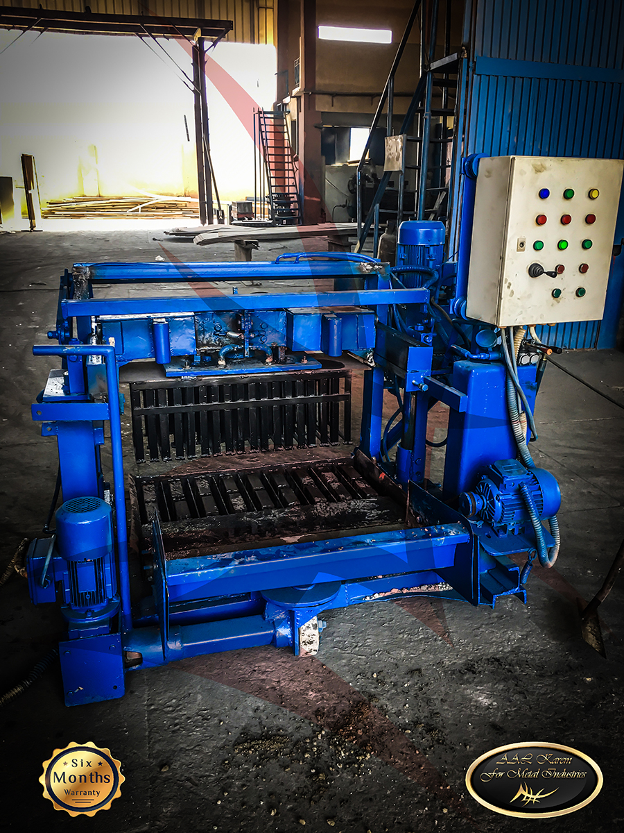 Hydraulic cement brick machine Semiautomatic